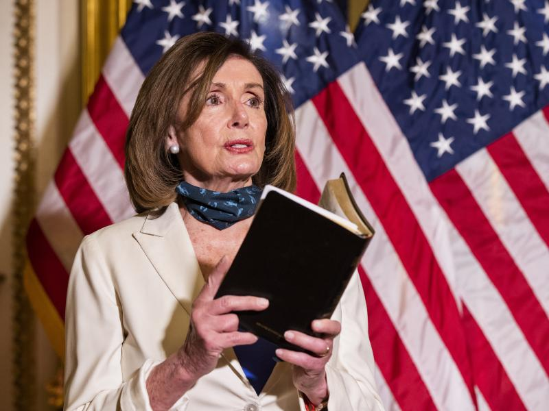 Pelosi Asks Black Caucus To Come Up With Police Reforms Following Protests