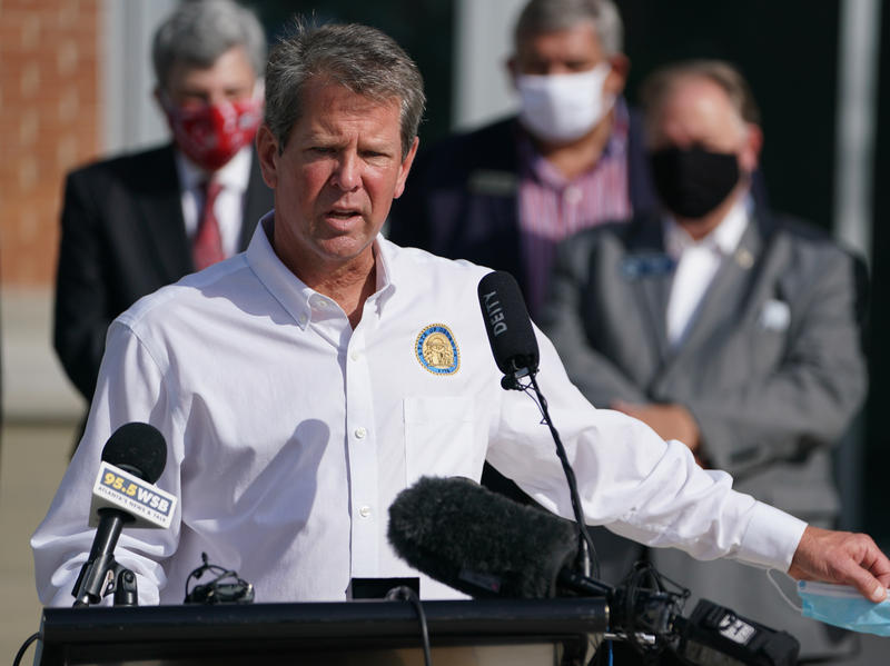 Georgia Governor And The Mayor Of Atlanta In Turf War Over COVID-19 Restrictions