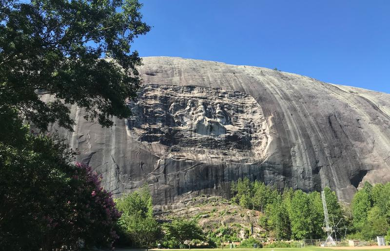 In Georgia, A Call To Remove Stone Mountain Confederate Carving