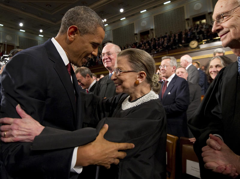 In A Tribute To Justice Ginsburg, Obama Calls On Senate Delay Naming A Successor