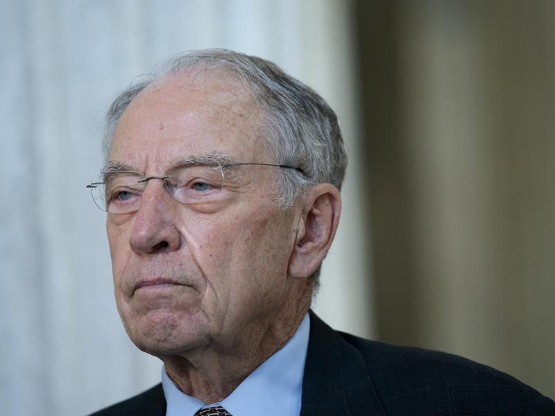 GOP Sen. Chuck Grassley, 87, Tests Positive For The ...