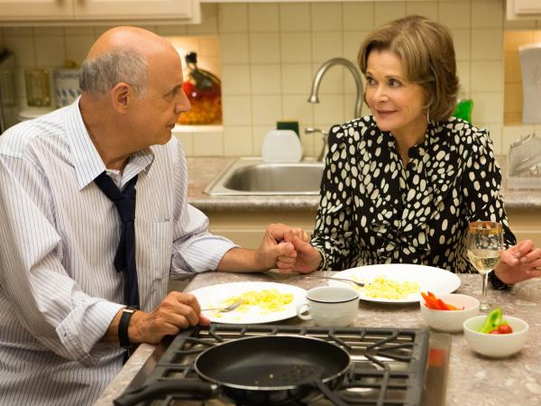 Jeffrey Tambor and Jessica Walter reprise their roles as George and Lucille Bluth in Netflix's new fourth season of Mitch Hurwitz's <em>Arrested Development.</em>