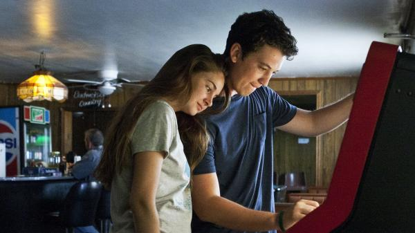 Shailene Woodley, who played George Clooney's rebellious daughter in <em>The Descendants,</em> turns in a splendidly calibrated performance as a soft-spoken good girl who falls hard for a high school party animal (Miles Teller) in <em>The Spectacular Now.</em>