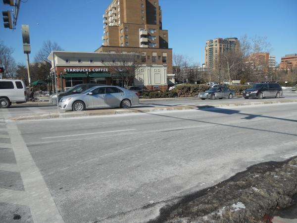 The most controversial project is York 101, which would be built next to the Starbucks at York and Burke.