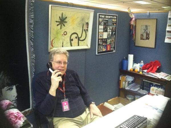 The lottery's Mike Lang at his office