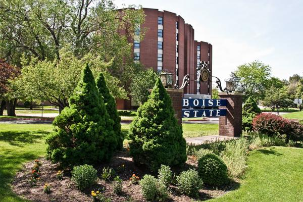 File photo of the campus of Boise State University