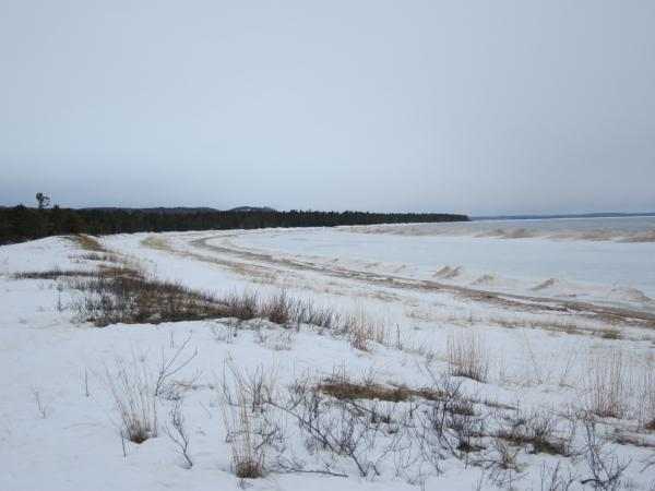 Good Harbor Bay is one of five zones of the national lakeshore that are now officially federally protected wilderness areas.