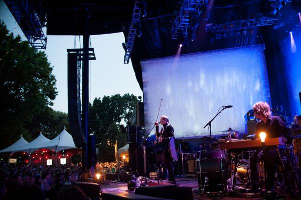 Sigur Ros performed as part of Celebrate Brooklyn, Brooklyn's longest-running free concert series.