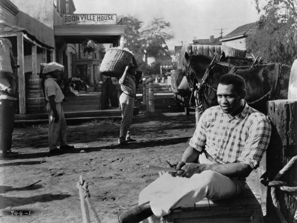 As the stevedore Joe, Paul Robeson sings the show's most memorable anthem: about how the mighty Mississippi River, that unstoppable force of nature, is completely indifferent to human suffering.