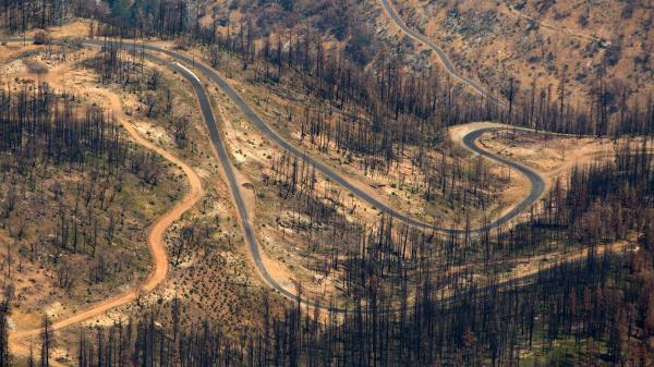 The Rim Fire burned about 400 square miles in Yosemite National Park and the surrounding area, making it the largest wildfire ever recorded in the Sierra Nevada.