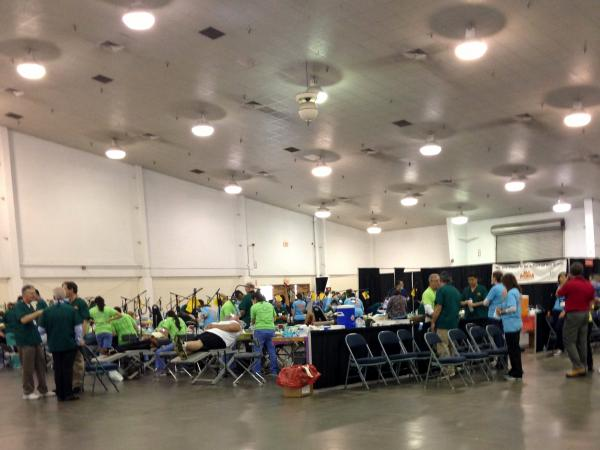 More than 1,600 patients got cleanings, fillings and extractions at the Florida Dental Association's free event March 28 and 29.