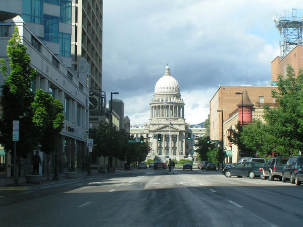 File photo of the  Idaho State Capitol in Boise.