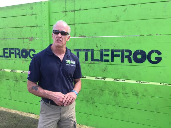 Don Mann, CEO of Battle Frog, is interesting in making obstacles challenging but not impossible.