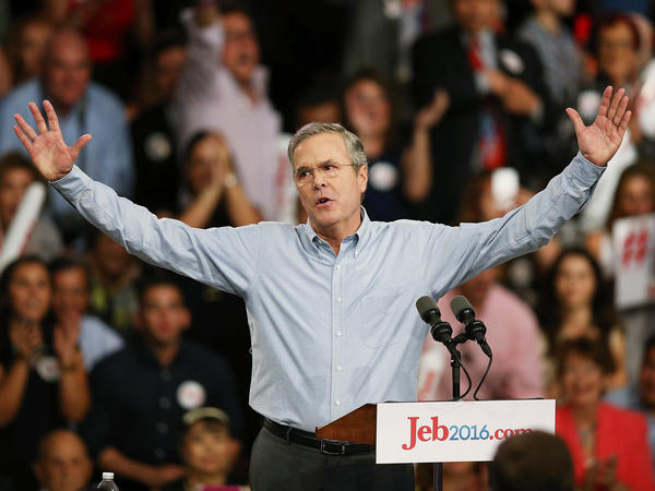 Jeb thinks he can grow the economy at a 4 percent rate. That sounds nice, but it's unlikely to happen.
