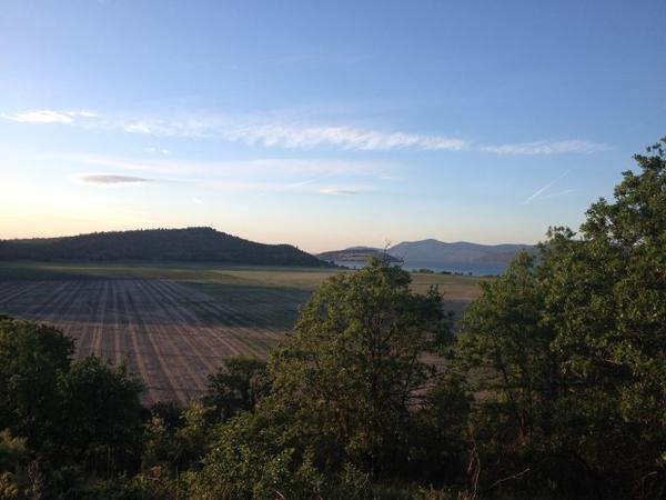 <p>Irrigation water was cut off in 2014 for hay farmers and other growers in the drought-parched Klamath Basin of Oregon and California.</p>