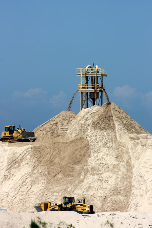Dune sand mined in Michigan likely makes its way into the foundry industry, the MDEQ's Hal Fitch says.