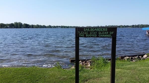 Lake Lansing.