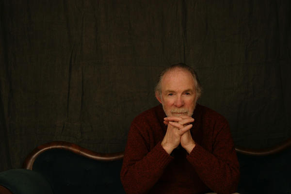 Maine artist and art promoter Thomas Crotty, in a photo taken by his daughter, Melissa Chaput, in 2007.