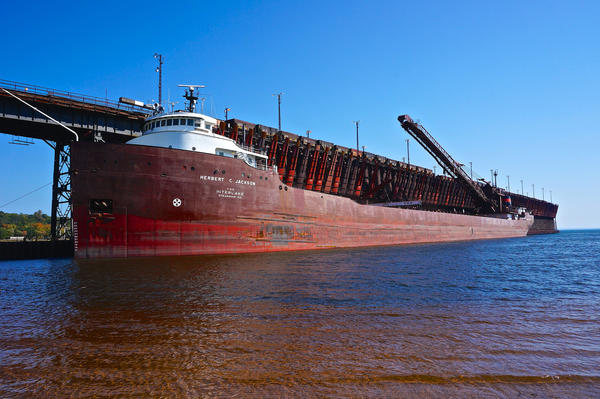 Today the Upper Harbor ore dock is owned and operated by Cliffs Natural Resources.