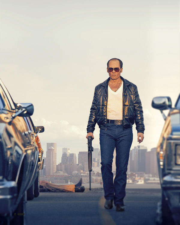 "Johnny Depp as Whitey Bulger in ""Black Mass."" (Courtesy Warner Bros. Entertainment)"