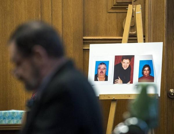 Frazier Glenn Cross Jr. was sentenced to death Tuesday for killing three people at Jewish sites last spring.