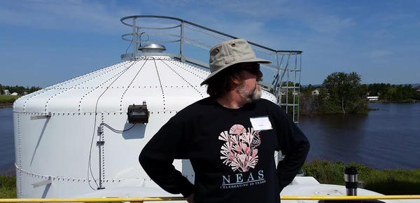 Euan Reavie at the Great Ships Initiative facility in Superior, WI.