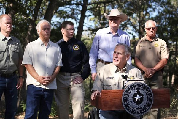 Texas Gov. Greg Abbott declares a state of disaster for Bastrop County, where the Hidden Pines fire continues to burn as of Thursday morning.