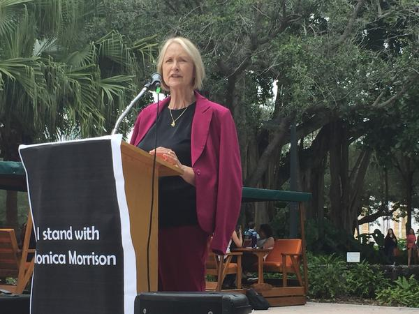Patricia Ireland graduated from UM in 1975. She returned at Canes Consent to share her knowledge with the students now trying to make a difference.