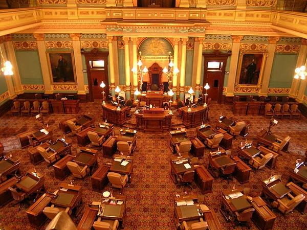 Inside the Michigan Senate