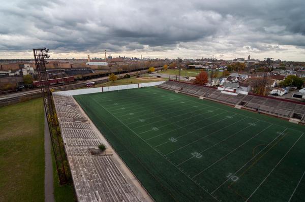 Keyworth Stadium, the future home of Detroit City FC