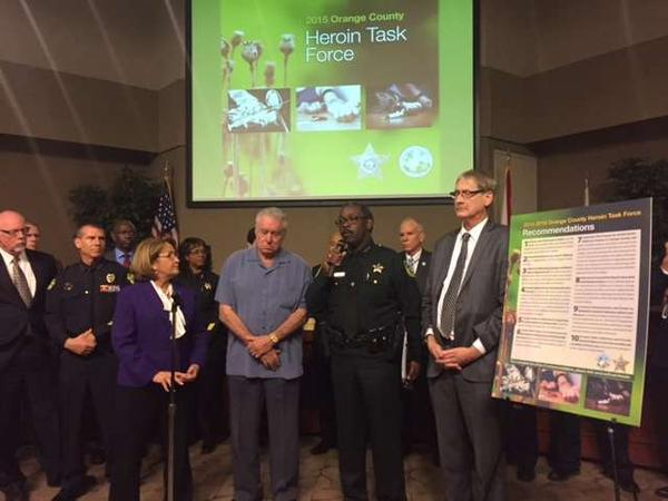The Orange County Heroin Task Force unanimously approved a plan Monday to combat Central Florida's growing heroin problem.