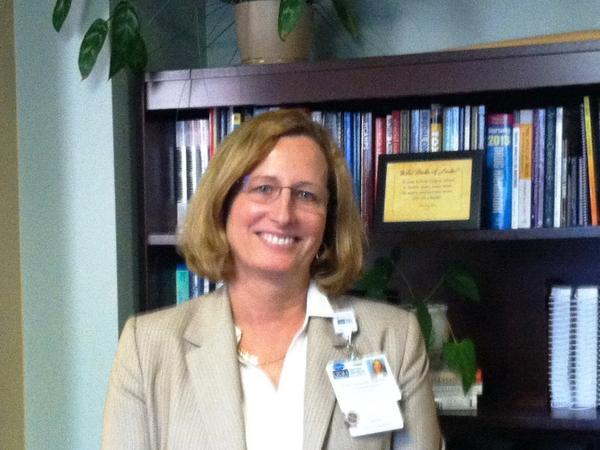 Tampa General Hospital chief of nursing Janet Davis said the former medics turned nursing students are a good match for the Level One trauma hospital.
