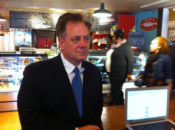 Businessman David Warnock