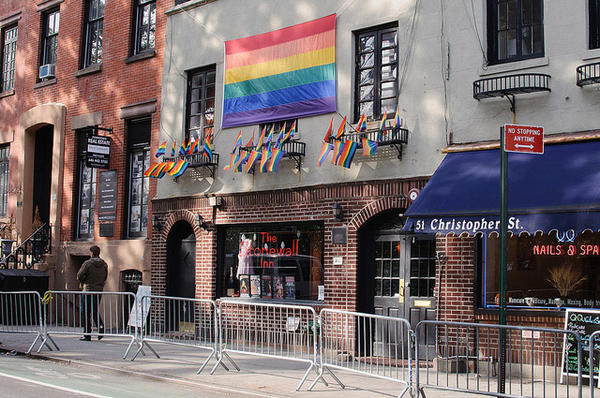 The Stonewall Inn is considered to be the birthplace of the gay rights movement in the U.S.