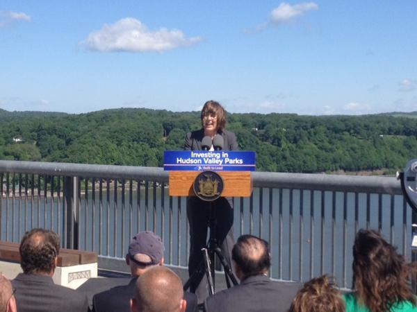 NYS Parks Commissioner Rose Harvey