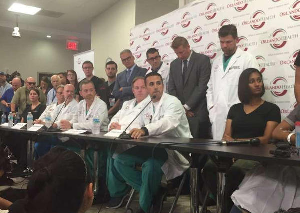 Orlando Health held a press conference Tuesday, June 13. They said many victims were able to get to Orlando Health quickly, which surgeons say saved lives.
