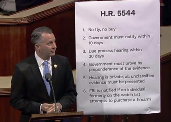 U.S. Rep. David Jolly presents his compromise gun bill, H.R. 5544, on the House floor.