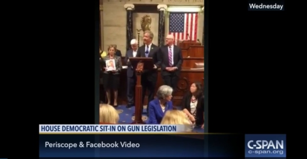 C-SPAN used Periscope and Facebook Live feeds to air the sit-in.