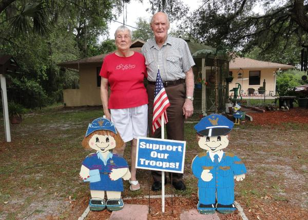 Charlotte and Albert (Bruce) Chalcraft of Inverness, FL are keepers of Leo Chalcraft's legacy.
