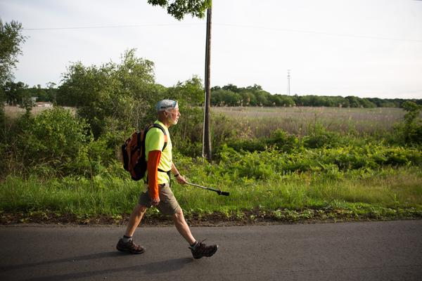 Rauth has spent the last 30 years advocating for pedestrian safety.