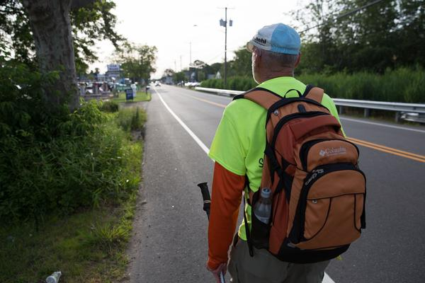 """Rough faces an uphill battle. The Boston Post Road """"was never designed with pedestrians in mind,"""" according to historian Eric Jaffe."""