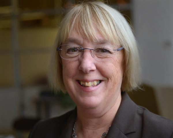 Senator Patty Murray in the KUOW offices, Jan. 2016.