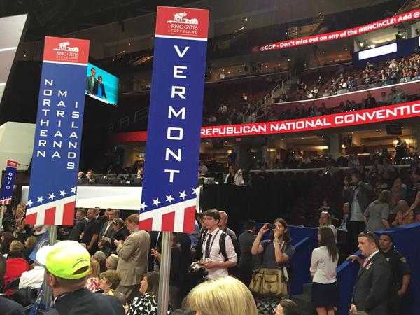Thirty-two Vermont Republican delegates and alternates are among the thousands gathered in Cleveland. Each delegate has her or her own story of inspiration.