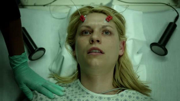 """Dr. Daniel Maixner says depictions of electro-convulsive therapy (ECT), like this one in the TV show """"Homeland,"""" have harmed the public's perceptions of the treatment. Dr. Maixner calls ECT a """"miracle."""""""