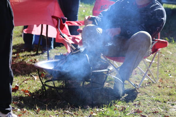 Charcoal grills are one of the three main sources of potentially harmful pollution while tailgating, according to a recent NC State study.