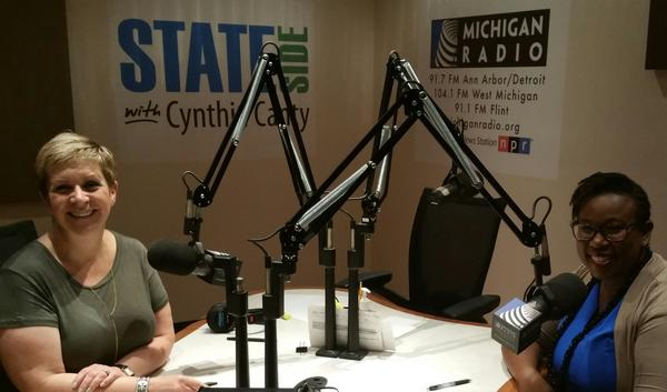 Dr. Nia Heard-Garris sits down with Cynthia Canty for an interview on Stateside.