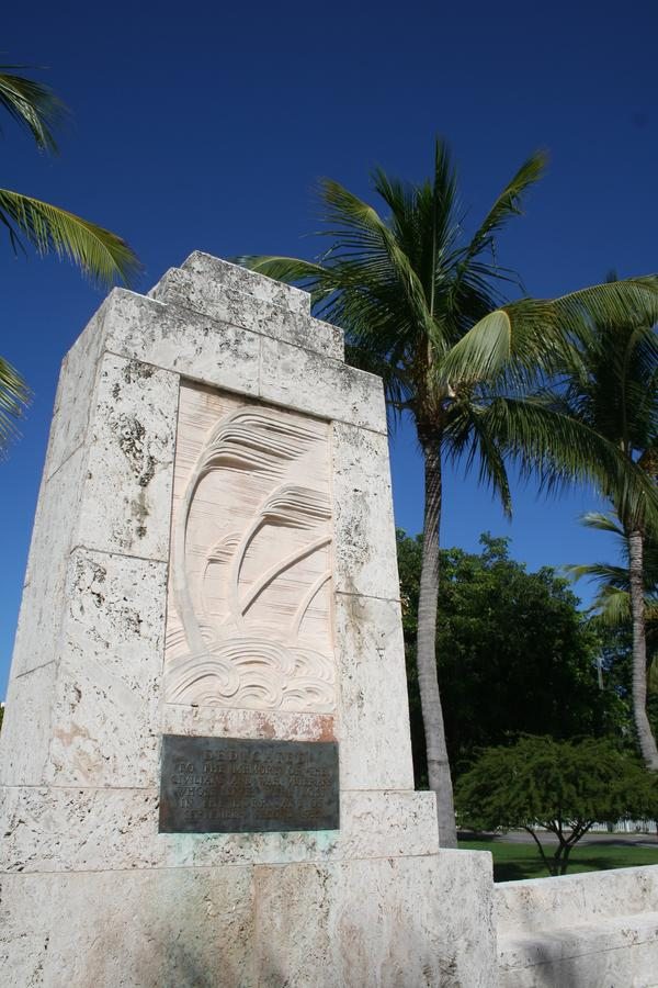 The memorial, at Mile Marker 81.5 on Upper Matecumbe Key, is the site of a service every Labor Day.