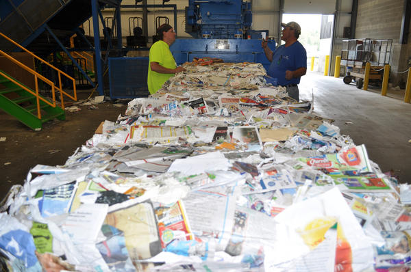 Inside one of the more successful recycling programs in the state - Emmet County's Material Recovery Facility.