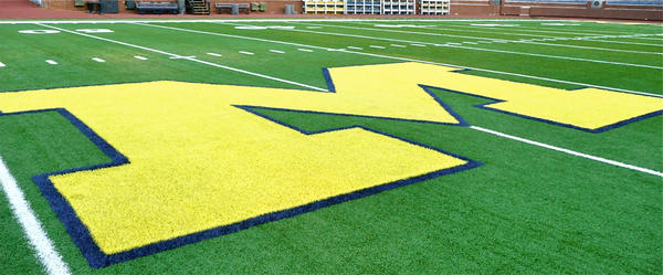 Michigan is ranked No. 4 in the nation after their 51-14 home win over Central Florida.