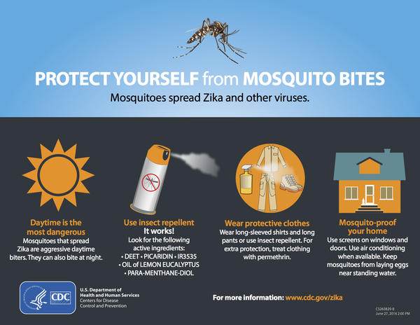 Maybe you're not worried about Zika, but you can still protect others, say public health experts.